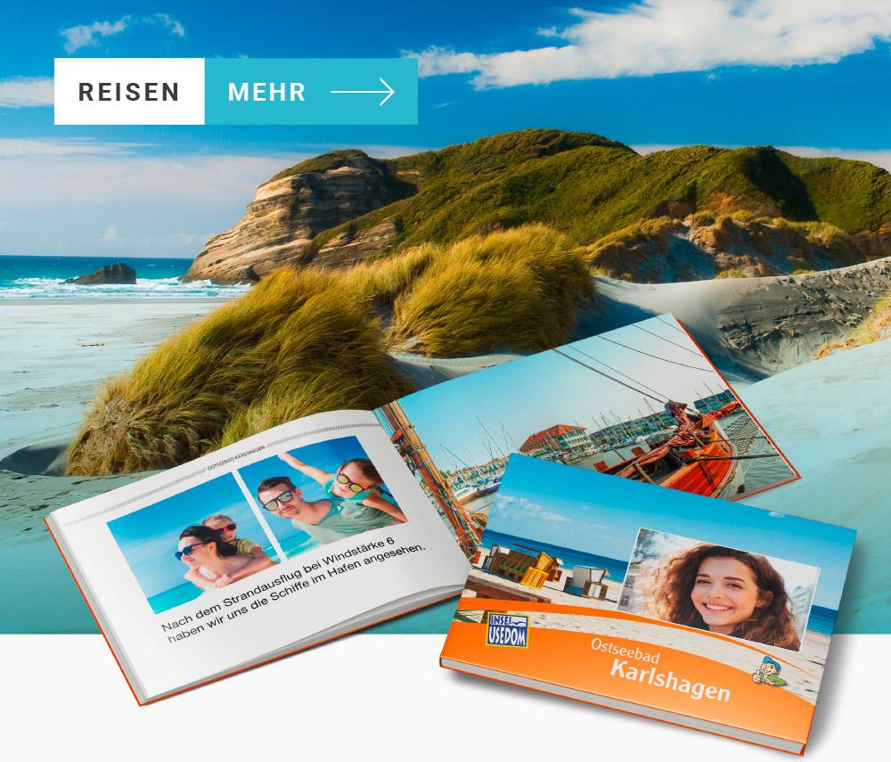 Erlebnisbücher von Reisezielen